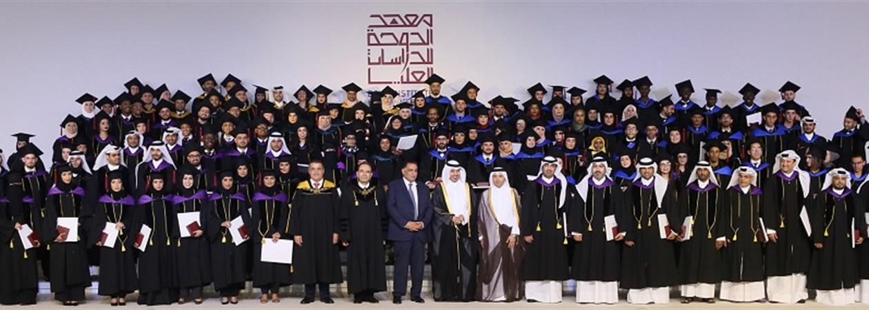 The Doha Institute Celebrates The Graduation Of Its Third Cohort Of Students: 161 Master Graduates